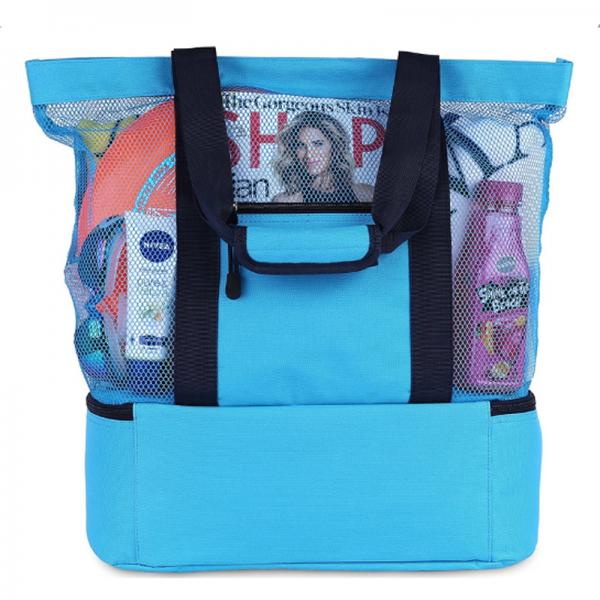 Insulated Mesh Beach Bag