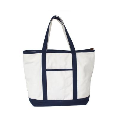 store tunge lerret deluxe shopping tote poser